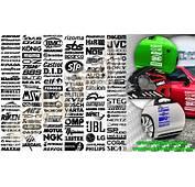 Adesivi Sponsor Loghi Marche  Auto Tuning
