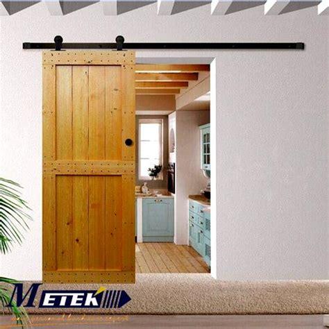 rustic barn door track 4 9ft 6ft 6 6ft rustic vintage sliding barn door track