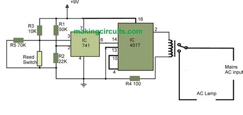 automatic light on off circuit automatic light circuit for washroom