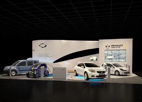 cars photo booth layout epic inspired booth design renault
