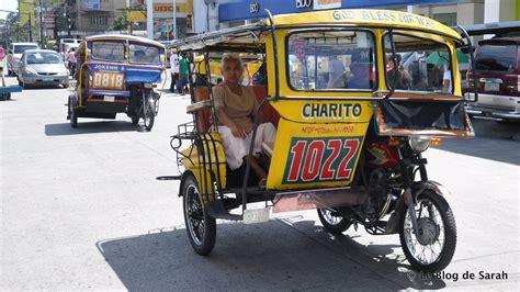 philippine pedicab avec les jeepneys le tuning devient du aux