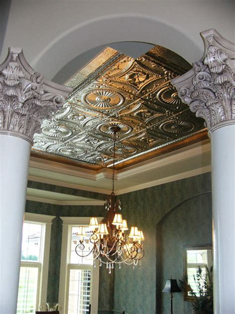 American Tin Ceiling Company by Dining Rooms With Tin Ceilings Midcentury Dining Room
