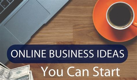 Online Business Ideas You Can Start