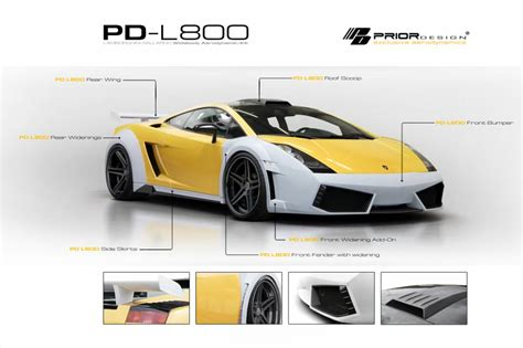 Lamborghini Kits Prior Design Lamborghini Gallardo Pd L800 Wide Kit