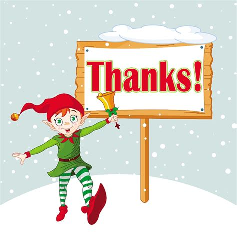 christmas animated thanks clipart clipart suggest