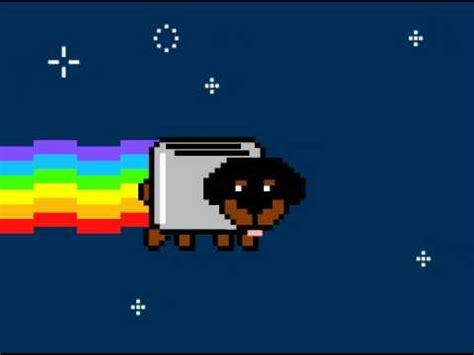 Toaster Cool Nyan Cat Meet Toaster Puppy Youtube