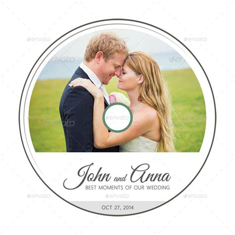 wedding dvd cover template 11 by rapidgraf graphicriver