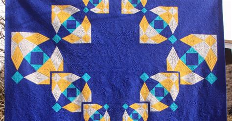 Blue Moon Quilt Pattern by Quilting Mod Four Is Greater Than One A Blue Moon Quilt