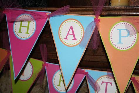 happy birthday banner diy printable printable diy happy birthday banner party planning