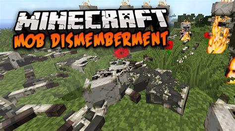 mod gta 5 minecraft 1 7 10 minecraft mod mob dismemberment mod 1 7 10 youtube