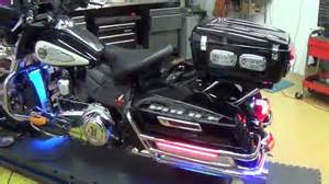 Police Strobe Lights Delray Beach Police Motorcycle Light By Chrome Glow Youtube