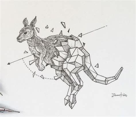 aussie kangaroo tattoo design by gbftattoos on deviantart 50 best tribal caribou images on tribal