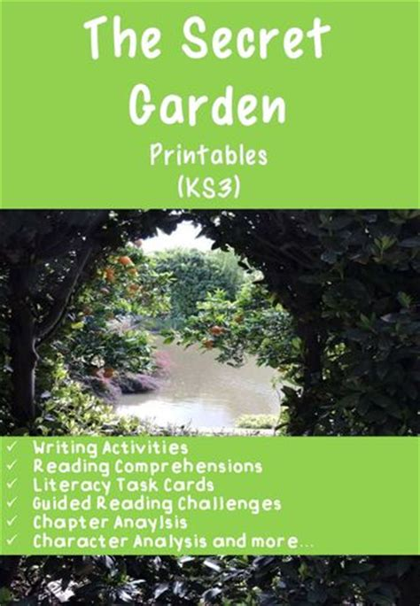 The Secret Garden Pdf 17 best images about tes language arts writing on