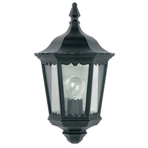 Outdoor Lighting Centre Endon Burford Yg 3002 Flush Half Lantern Outdoor Cast Aluminium Black Wall Lig Outdoor