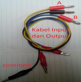 Kabel Federal Nyaf Ukuran O 75 gambar 4 bagian pemasangan kabel output dan input