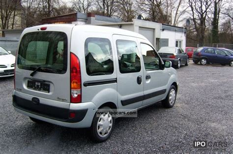 renault kangoo 2006 2006 renault kangoo 1 5 dci authentique car photo and specs