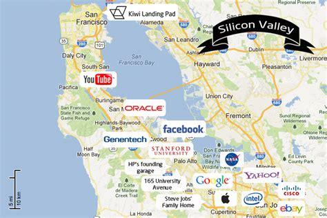 san francisco map silicon valley klp silicon valley map kiwi landing pad