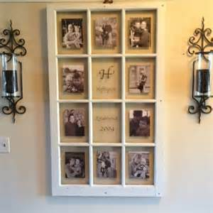 Old barn window becomes a picture frame sublime decor