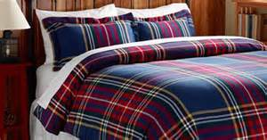 ll bean duvet covers ultrasoft comfort flannel comforter cover plaid
