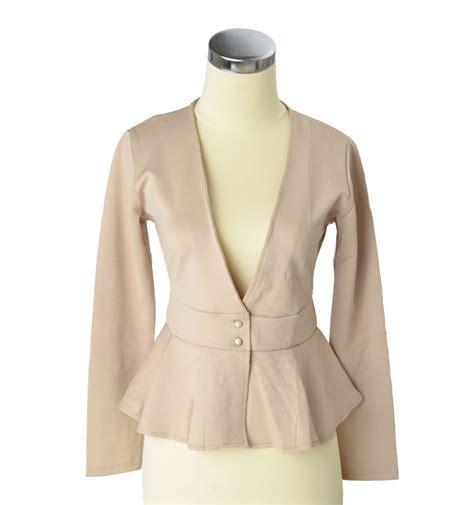 baju blazer 2014 model baju blouse wanita terbaru 2015 untuk kerja bahan