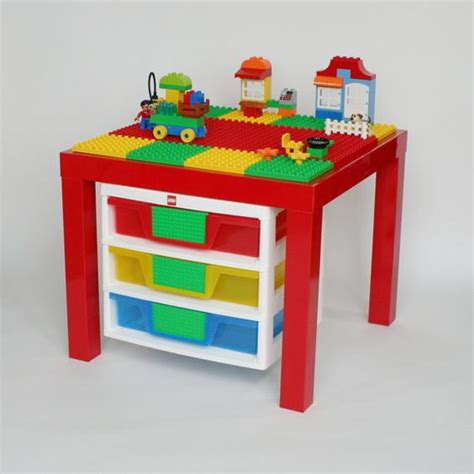 lego duplo table with storage tables storage and ikea table on