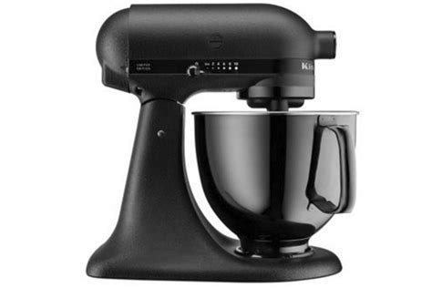 kitchenaid limited edition mixer kitchenaid s black limited edition mixer is decidedly