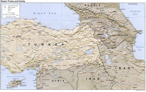 map iran turkey nationmaster maps of turkey 38 in total