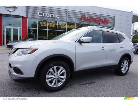 silver nissan rogue 2015 2015 brilliant silver nissan rogue sv awd 105817245
