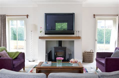 wood burner in living room extending a georgian home real homes
