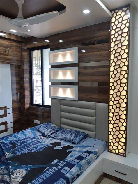 bed wall paneling ceiling design bedroom luxurious
