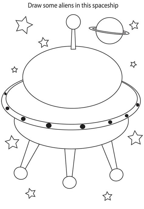 spaceship coloring page space ship coloring page coloring home