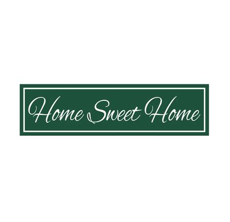home stencil sign stencil home sweet home 6 x 22 stencil for painting