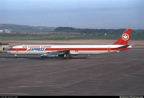 c ftio air canada cargo douglas dc 8 63f at prestwick photo id 165136 airplane pictures net