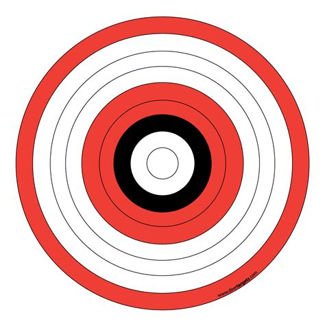Printable Archery Targets Archery Target Stands Pinterest Archery Target And Bow Hunting Shooting Target Template