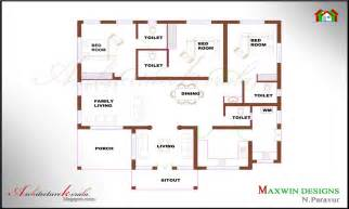 4 Bedroom House Floor Plans house plans 4 bedroom house plans kerala style single floor house