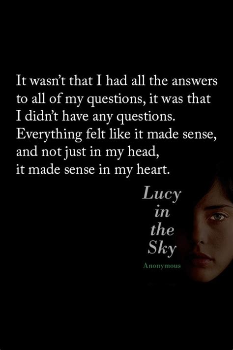 film lucy in the sky quotes from the book go ask alice quotesgram