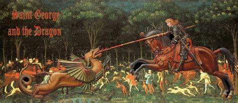 saint george and the dragon st georges day purplepeace s weblog