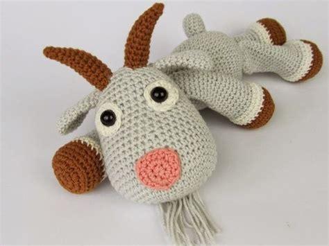cute goat pattern goats free crochet and crochet on pinterest