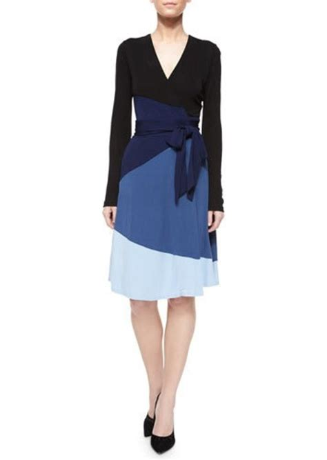 Shopping Colour Block Scarf Dress by Diane Furstenberg Diane Furstenberg Bell