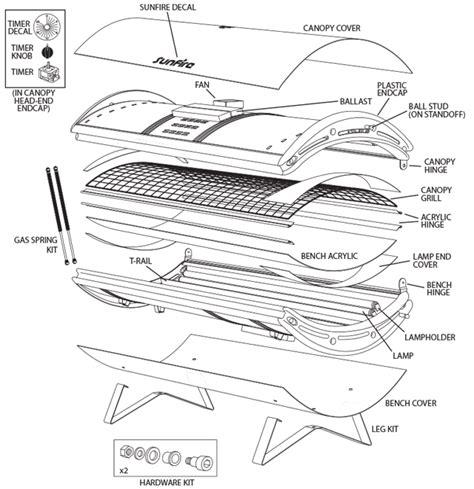tanning bed timer wiring diagram tanning get free image