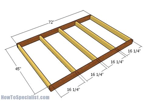 4x6 shooting house plans 4x6 shooting house plans howtospecialist how to build
