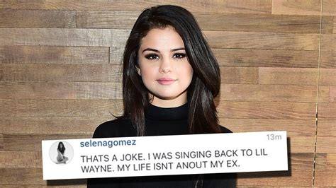 selena gomez fan instagram selena gomez defends herself about justin bieber on