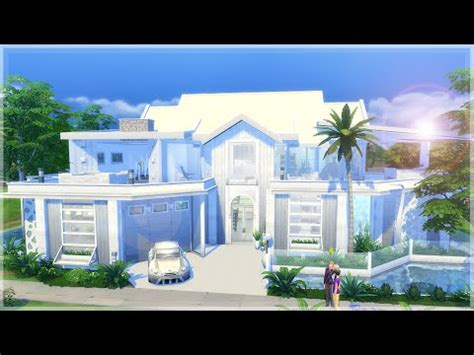 the sims house building modern abode speed build youtube idolza the sims 4 speed build dillan s modern beach home youtube