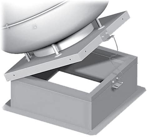 exhaust fan hinge kit fan roof mounted master flow 1000 cfm power roof mount