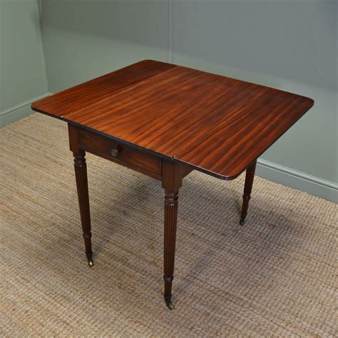 mahogany drop leaf dining table regency gillows small drop leaf mahogany dining table