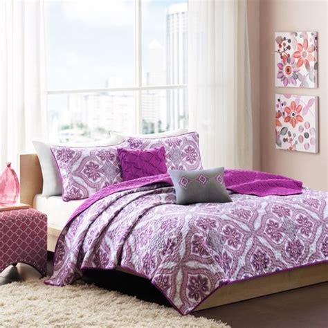 lionna purple coverlet by intelligent design