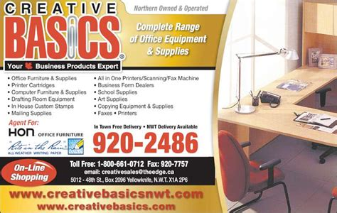 Creative Basics Yellowknife Nt 5012 48 St Canpages The Creative Paper Gallery 1437 Corydon Avenue Winnipeg