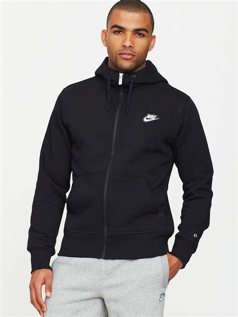 Vest Hoodie Rompi Hoodie Zipper Nike Logo 1 King Clothing nike mens limitless small logo zip through hoody in black for lyst