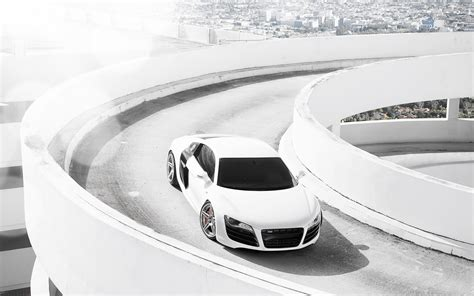 white audi r8 wallpaper audi r8 white wallpaper hd car wallpapers