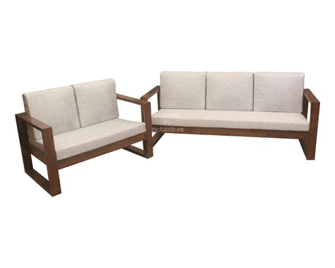 sofa loveseat ottoman set wooden sofa set smileydot us